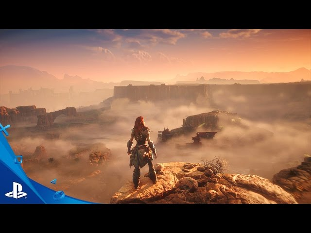 Horizon Zero Dawn - E3 2016 Gameplay Video | Only on PS4