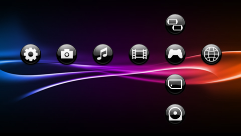 Free psp themes you can get from the psn/theme tips youtube.