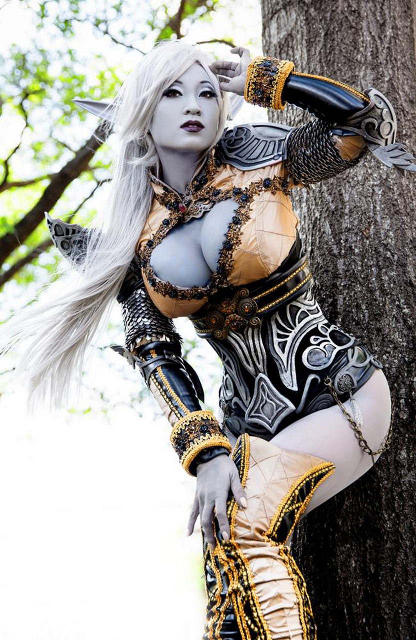 Cosplay dark elf porn naked photos