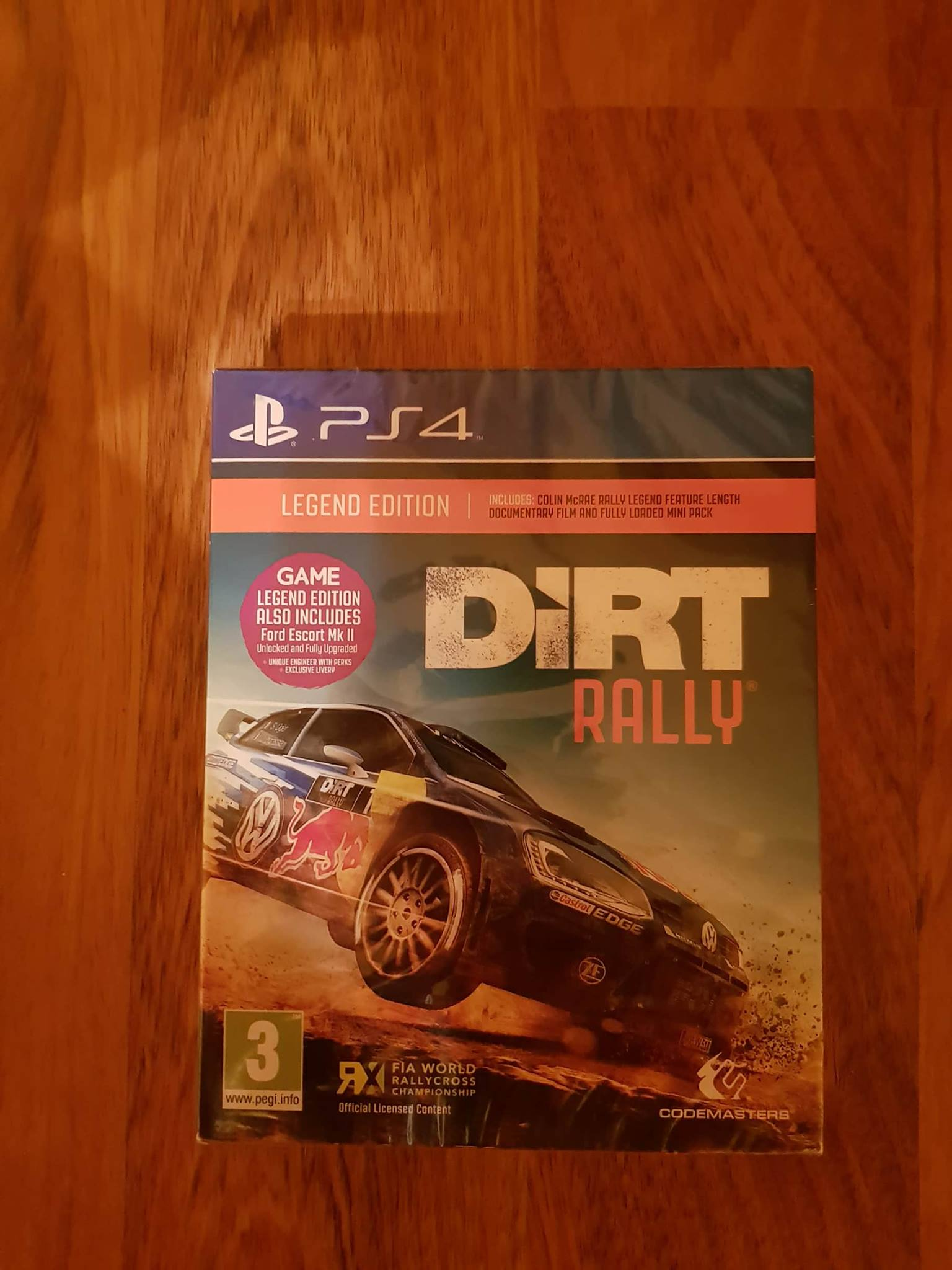 Vand Dirt Rally Legend Edition Ps4 Sigilat