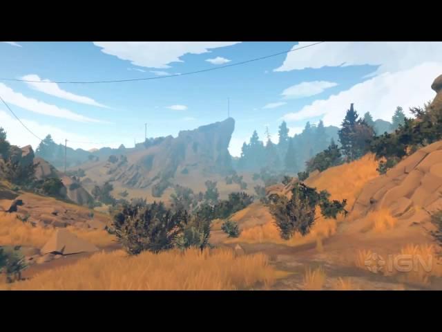 Firewatch - E3 2015 Story Trailer