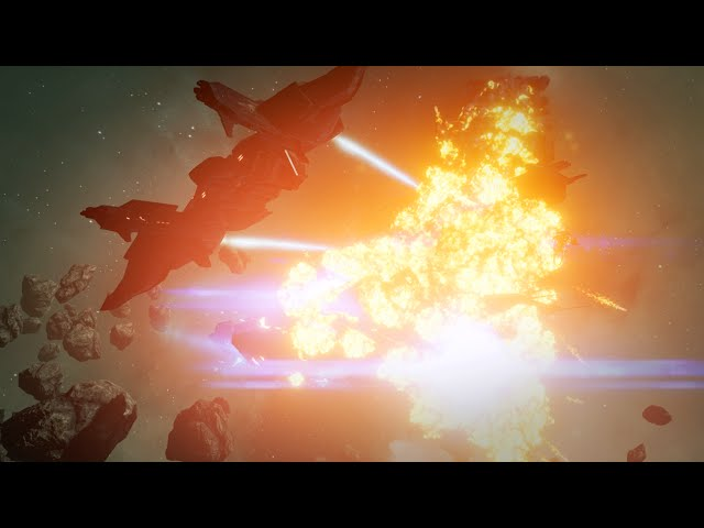 EVE: Valkyrie VR Gameplay Trailer – Carrier Assault
